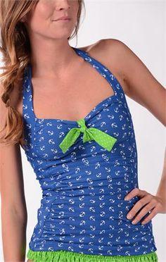 Midcoast Tankini - cute swim suit!  @Marci Negranza Negranza Cloughley Basics #SpringStyle