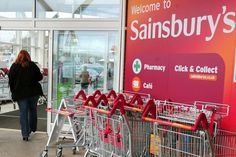 A bitter price war on the high street has taken its toll on Sainsbury's with food sales at the supermarket chain falling for the fifth consecutive quarter.