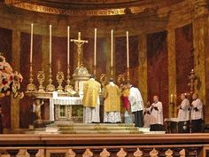 Tridentine Rite Mass Coverage on PBS - YouTube