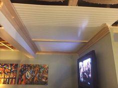 basement renovations,remodel basement,fix up basement,basement plans Exposed Basement Ceiling, Basement Ceiling Insulation, Basement Ceiling Options, Drywall Ceiling, Ceiling Panels, Basement Ceilings, Low Ceilings, Hallway Ceiling, Porch Ceiling