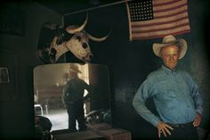 Henry Gray, rancher, Arizona, 1970 by William Albert Allard. Part of his 'Out West' collection
