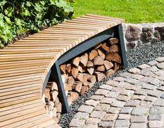 Den bedste bålplads til haven - Best Pins Small Courtyard Gardens, Small Courtyards, Small Gardens, Fire Pit Backyard, Backyard Patio, Outdoor Life, Outdoor Living, Small Garden Inspiration, Back Garden Design