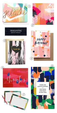 Trendspotting : Painterly Abstracts