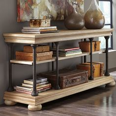 Signature Design by Ashley Shennifin Console Table & Reviews | Wayfair