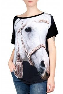 Comprar blusa-estampa-cavalo-branco-usenatureza