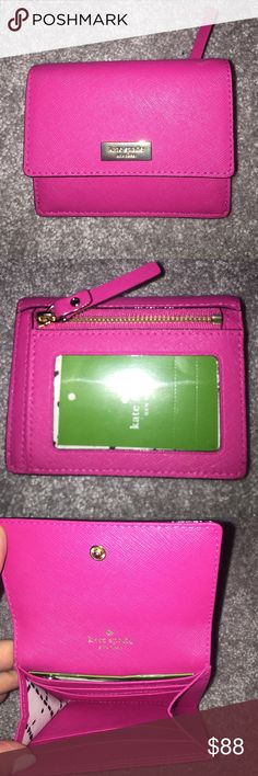Kate Spade Newbury Lane Pink ID-CardCase pretty Kate Spade Newbury Lane Pink ID-CardCase pretty  NWT. Reasonable Offers Appreciated   No Trades  If interested use offer feature to make offer not the comment section, thank you. kate spade Accessories Key & Card Holders