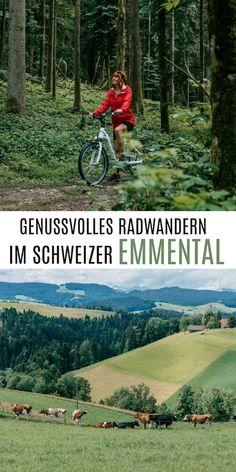 Radwandern im Emmental (Schweiz) Rafting, Bike Challenge, Outdoor Reisen, Reisen In Europa, Switzerland, Hiking, Emmental, Seen, Europe Travel Tips