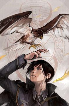 My loyal hawk. || Fullmetal Alchemist