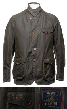 This new model, the Barbour Dept. B Commander, launched in 2013 is almost identical to the X To Ki To