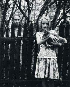 Untitled Nora & Mathilde, Ortwig, 2000,  Gelatin silver print 30 x 24