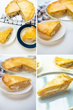 Try this easy to make Coconut Pie recipe for a healthy snack or dessert in any occasion. It is made with young coconut meat with a creamy-custard filling and a buttery pastry crust. It's a rich, sweet and delicious pie that it will become a favorite dessert! Easy Coconut Custard Pie Recipe, Custard Filling, Buko Pie, Pie Recipes, Recipies, Pie Crust Dough, Filipino Desserts, Pie Dessert, Tarts