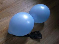 Balonowy tenis | co robić z dzieckiem