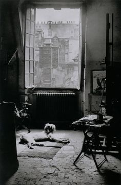 Famous Parisian photographer Brassai took this photo of his atelier on the Rue des Grands-Augustins in Paris, May 9, 1944.