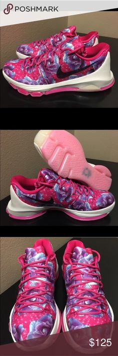 "NWT! Nike KD 8 RPM ""Aunt Pearl"" Brand New/Never Worn. Very comfortable and great sole grip. Highest quality Nike shoe. Tribute to Kevin Durant Aunt Pearl Nike Shoes Sneakers"