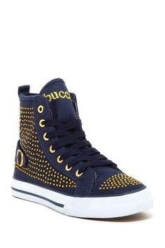 Bucco Rida Rhinestone Embellished Platform Sneakers//