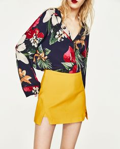 SKORT WITH SLITS-View All-SKIRTS-WOMAN | ZARA United States