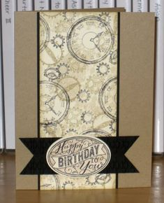 Clockworks Birthday by Christy S. - Cards and Paper Crafts at Splitcoaststampers