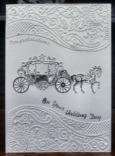 H Samuel Wedding Rings Mens Wedding Day Cards, Wedding Cards Handmade, Wedding Anniversary Cards, Handmade Birthday Cards, Pretty Cards, Love Cards, Wedding Scrapbook, Scrapbook Cards, Tattered Lace Cards