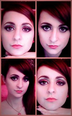 Red make-up