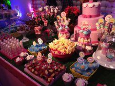 #festa #party #hellokitty #cake #bolo #candy #doces #pirulito #lollipop #marshmallow