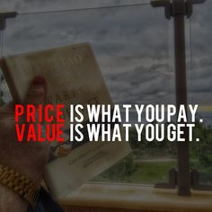 Wise words from Warren Buffett  - Don't focus on the price of the product your are selling focus on the value and the price will justify itself.       #entrepreneur #entrepreneurs #entrepreneurship #entrepreneurlife #business #businessman #quoteoftheday #millionairemindset #investments #success #motivationalquotes #working  #warrenbuffett #money #moneymaker #inspirationalquotes #successful #passion #inspiredaily #hardworkpaysoff #hardwork #desire #motivational #motivation #lifestyle…