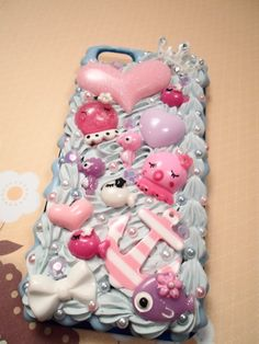 Under the Sea Kawaii Decoden Case for iPhone 5 by Lucifurious, $34.00