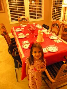 My little one's love hosting Valentine's Day  Parties!!!