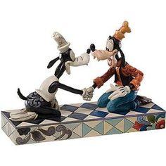 Jim Shore Disney Goofy Through The Years 80th Anniversary Goofy Figurine