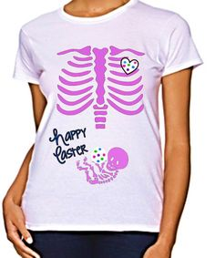 Easter Maternity Shirt Skeleton Baby Rib Cage Easter Egg Cute Pregnancy Shirt Cute Maternity Shirts, Pregnancy Shirts, Easter Pregnancy Announcement, Baby Announcements, Maternity Fashion, Maternity Clothing, Maternity Style, Lil Baby, Future Baby