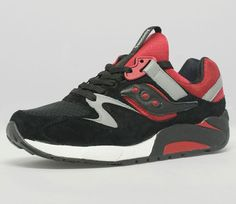 Saucony Grid 9000 Premium Black / Red