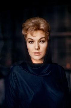 """Kim Novak while filming """"Bell Book and Candle"""" 1958 © 1978 Bob Willoughby"""