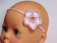 Baby-Haarband Lilli  -   Kinder-Haarband von ellyshop auf DaWanda.com