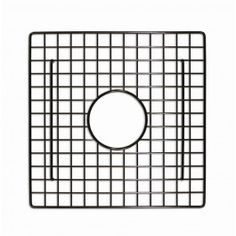 "13.25"" X 11.25"" Bottom Grid In Stainless Steel - A matched sink grid for the Native Trails Cabana hand hammered copper sink. The grid comes in mocha or stainless steel finish. Available at Kitchen Cabinet Kings."