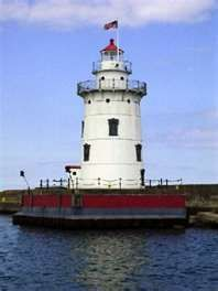 Gallery Michigan Lighthouses Harbor Beach Lighthouse South View