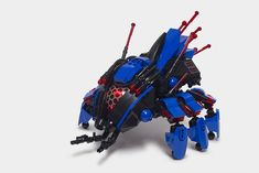 Lego Space Police, Light Brick, Lego Animals, Cyberpunk Aesthetic, Lego Pictures, Bionicle Heroes, Lego System, Lego Mechs, Hero Factory