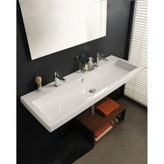 Tecla by Nameeks CAN05011 Bathroom Sink - White - TECLA CAN05011