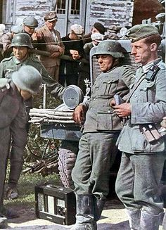 German troops - Summer 1941, via Flickr.