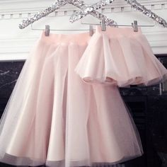 Because mommy and me #tulle skirts are a must! @blisstulle makes dreams come true for both big and little girls!