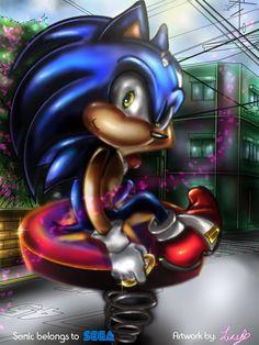 Sonic The Hedgehog. by sonamy94fan