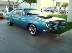 Oh yeah 1968 Plymouth Road Runner!