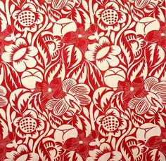 Furnishing fabric  Designed by Raoul Dufy  For Bianchini-Ferier  France  About 1920  Printed linen  Museum no. Misc.2:29-1934  At V