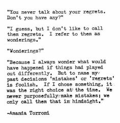 Quotes about regretting dating someone