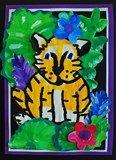Artsonia Art Exhibit :: Rousseau Jungle Tiger