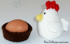 Spring is here and it's time to be ready for Easter coming very soon. Look what I have for the Easter, cute amigurumi chicken with nest to decorate your party table or shelf. Gifts For Coworkers, Gifts For Teens, Gifts For Husband, Gifts For Friends, Crochet Chicken, Chicken Pattern, Easter Crochet, Party Treats, Crochet Animals