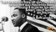 Dr. Martin Luther King Jr. - Audacity