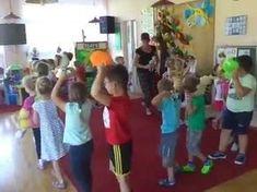 zabawa rytmiczna z maskotką ; Kids Songs, Summer Kids, Pre School, Activities For Kids, Nursery, Teaching, Youtube, Boom Boom, Music Ed