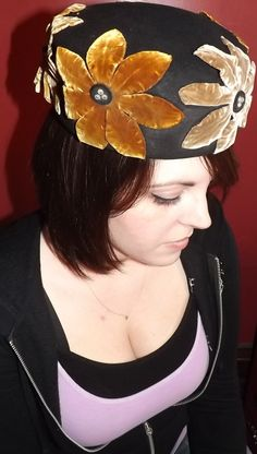 Vintage 1960's Pill Box Hat by Chapeau Dana by SweetNancyVintage, $30.00