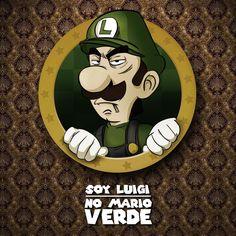 For the last time, im not green Mario... #luigi #notgreenmario #nintendo #digitalcomics #luigimatterstoo #fanart