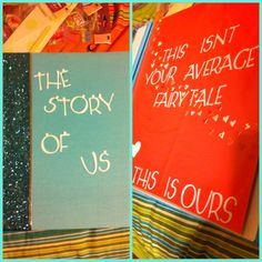 I'm making this for me and my boyfriends 6year anniversery. A storybook of how we came to be ❤❤❤❤