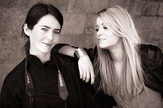 Gosia Janik and Kasia.  http://www.gosiajanik.com/web/inicio.html